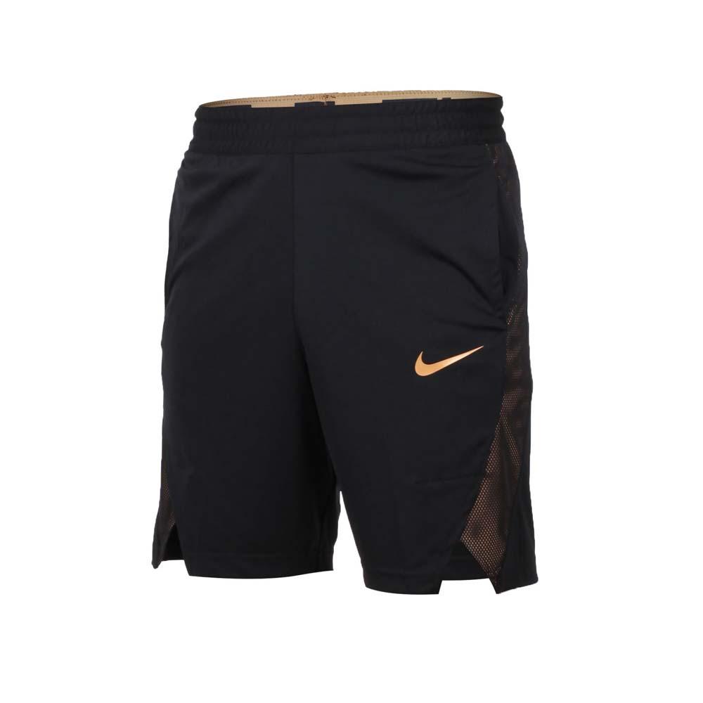 NIKE 男篮球短裤-五分裤 运动短裤 慢跑 路跑 篮球 黑金@891769013@