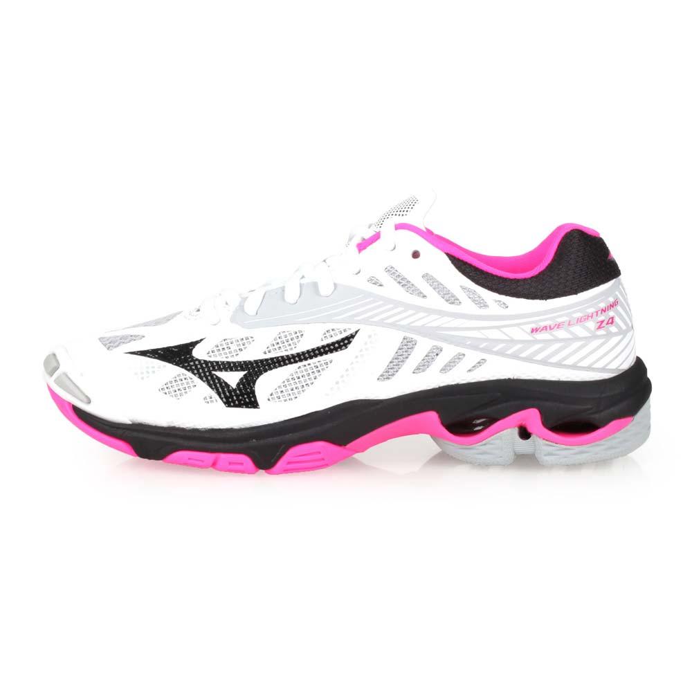 MIZUNO WAVE LIGHTNING Z4 女排球鞋-美津浓 白粉灰黑@V1GC180064@