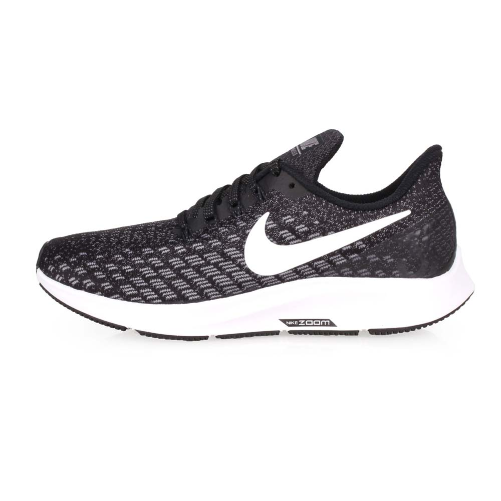 NIKE WMNS AIR ZOOM PEGASUS 35 女慢跑鞋-路跑 黑白@942855001@