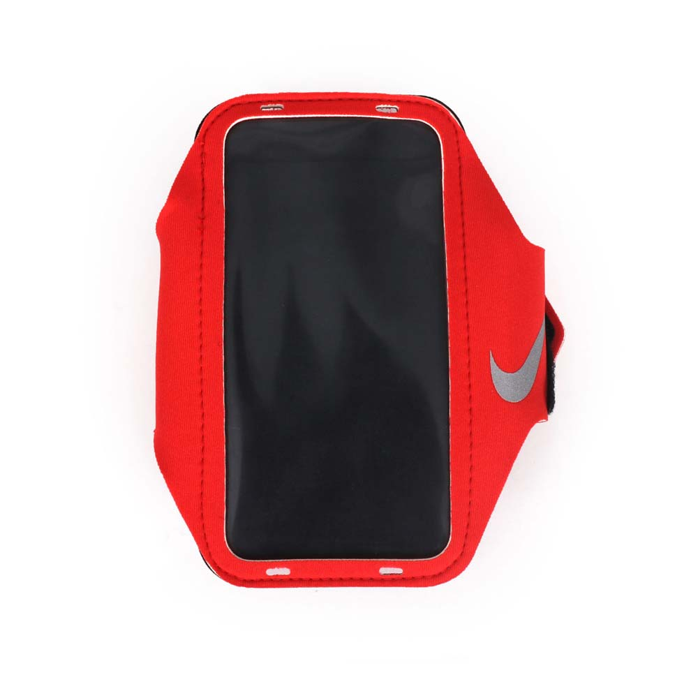 NIKE 輕量手機萬用臂包~慢跑 路跑 手機包 5.7吋螢幕 紅~NRN65824OS~