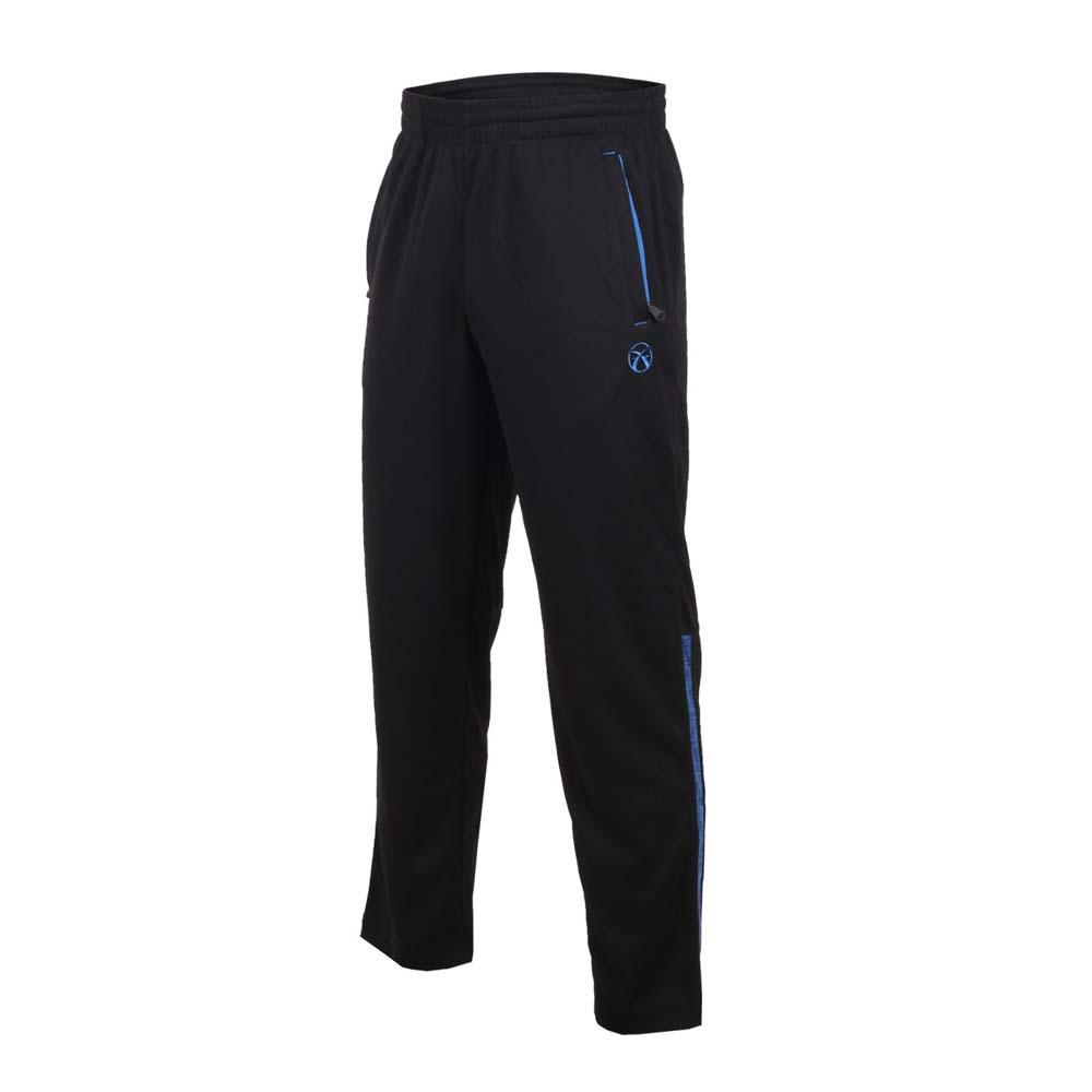 FIRESTAR 男吸排針織長褲~ 長褲 慢跑 訓練 路跑 黑藍~P8088~97~