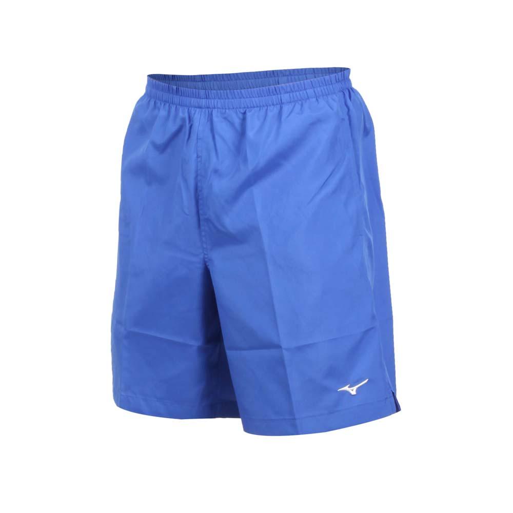 MIZUNO 男路跑短裤-五分裤 运动短裤 训练 慢跑 美津浓 蓝白@J2TB8A0222@