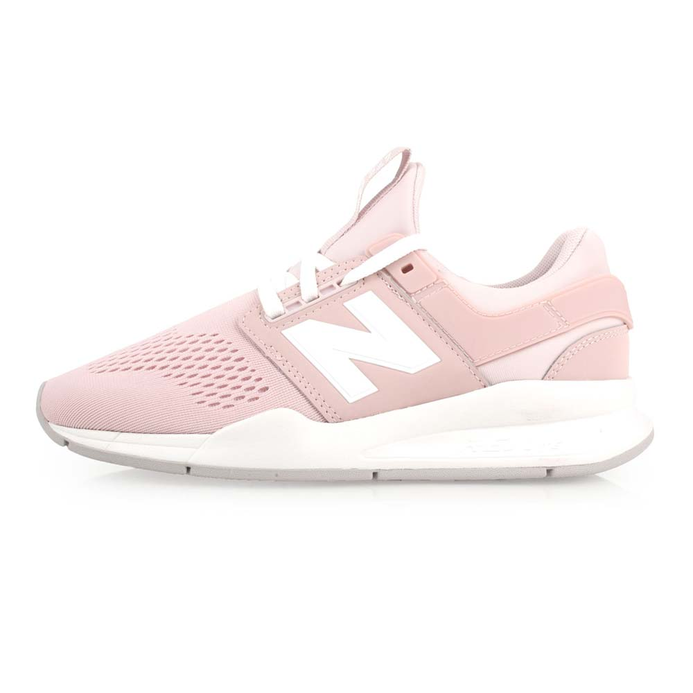 NEWBALANCE 247系列 女休闲运动鞋-慢跑 路跑 NB N字鞋 粉白@WS247UI@