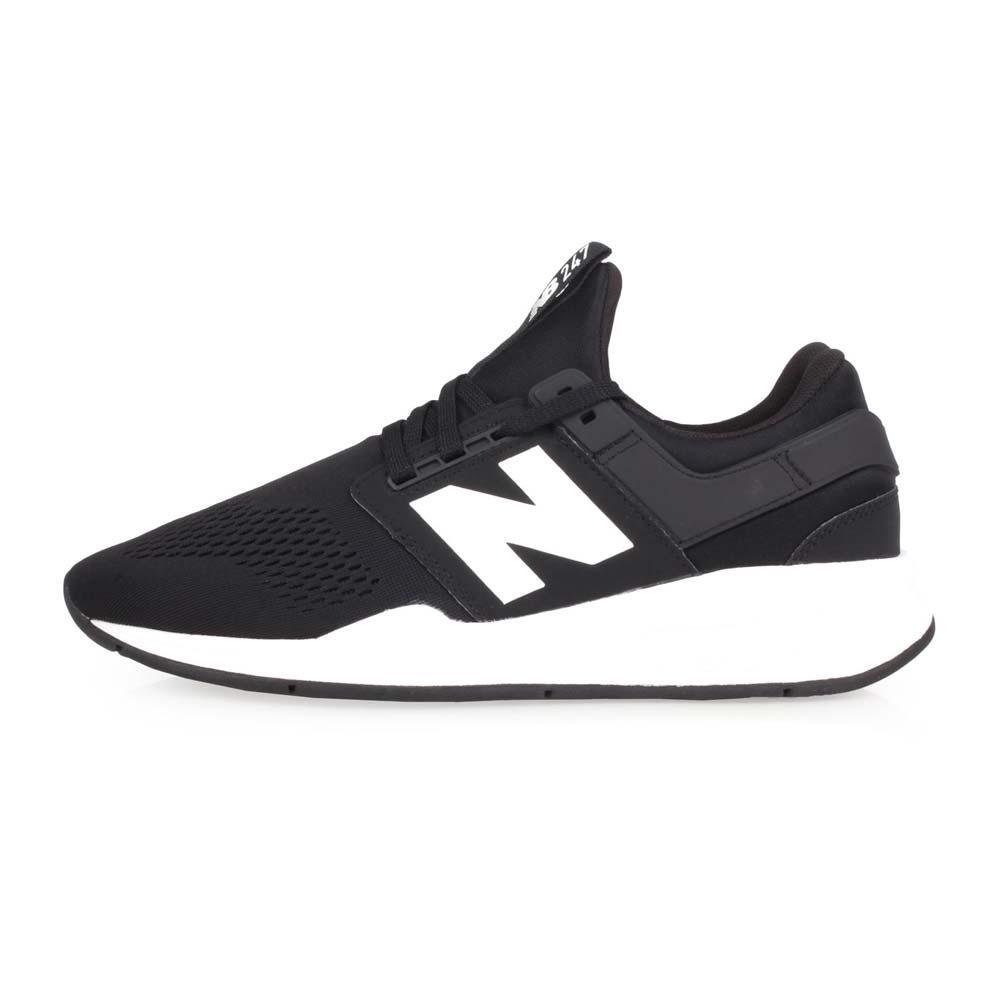 NEWBALANCE 247系列 男休闲运动鞋-D-慢跑 路跑 NB N字鞋 黑白@MS247EB@