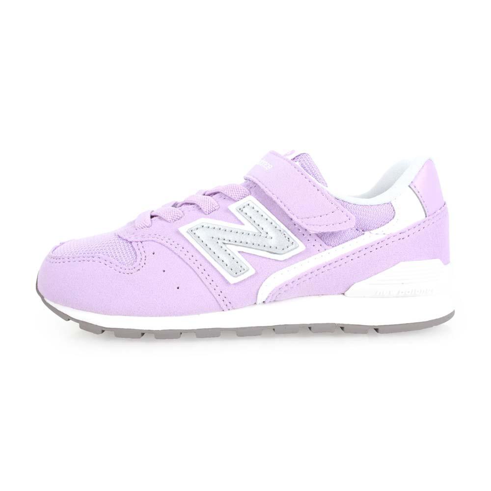 NEWBALANCE 996系列 女儿童复古慢跑鞋-WIDE-宽楦 NB 粉紫银@KV996BRY@