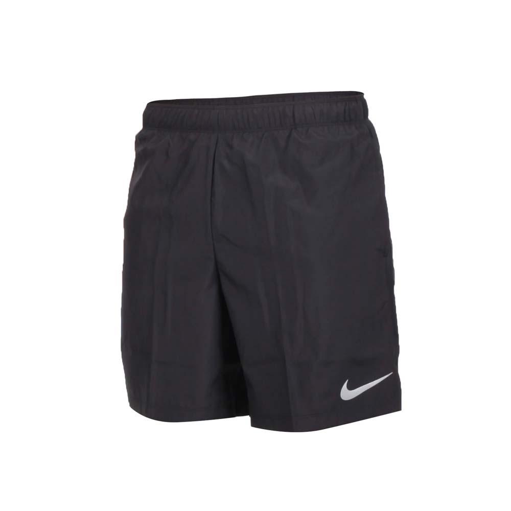 NIKE 男运动短裤-慢跑 路跑 黑银@908799010@