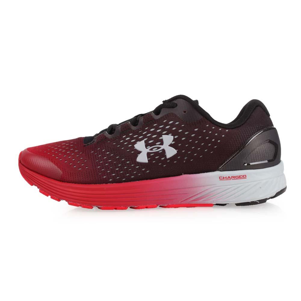 UNDER ARMOUR RUNNING 男慢跑鞋-训练 路跑 咖啡红黑灰@3020319-005@