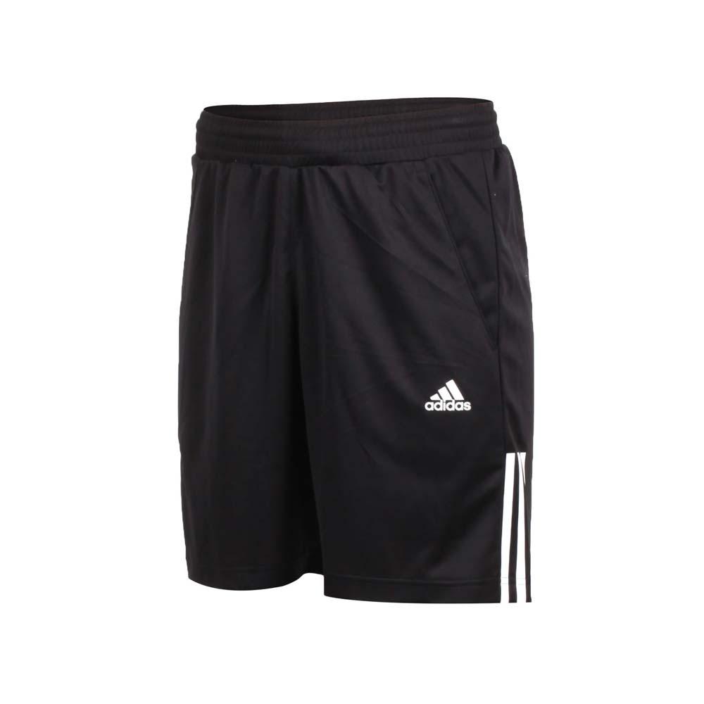 ADIDAS 男运动短裤-五分裤 慢跑 训练 路跑 爱迪达 黑白@D84687@