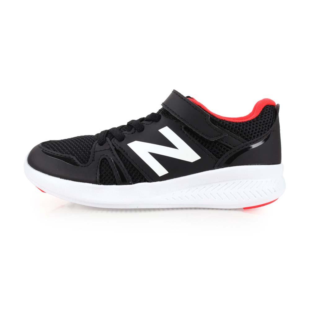 NEWBALANCE 570系列 男儿童休闲慢跑鞋-WIDE-NB N字鞋 黑橘红@KV570BOY@