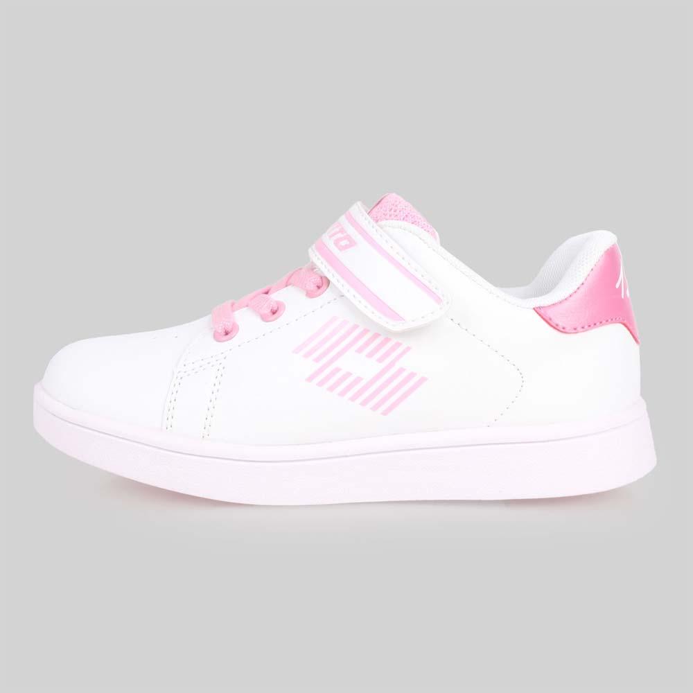 LOTTO 男女儿童1973经典网球鞋-慢跑 童鞋 白粉红@LT8AKR6983@