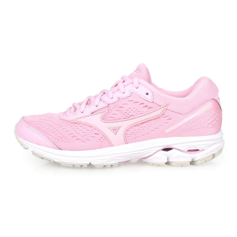 MIZUNO WAVE RIDER 22 女慢跑鞋-路跑 美津浓 粉红@J1GD183165@