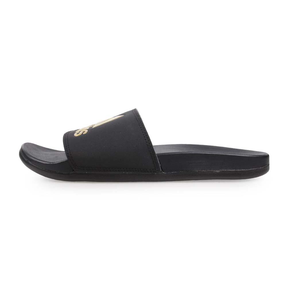 ADIDAS 男運動拖鞋-海邊 海灘 戲水 愛迪達 黑金@B41742@