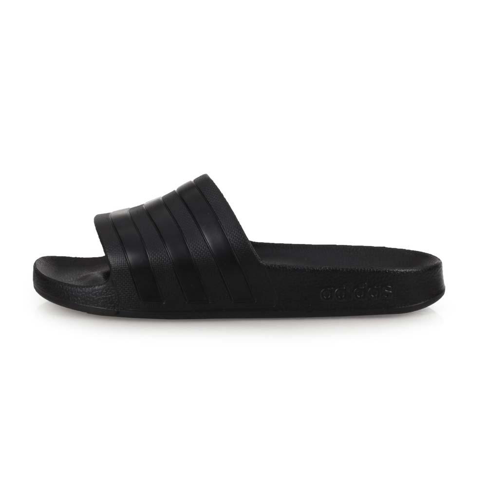 ADIDAS 女運動拖鞋-沙灘 海邊 戲水 愛迪達 黑@F35550@