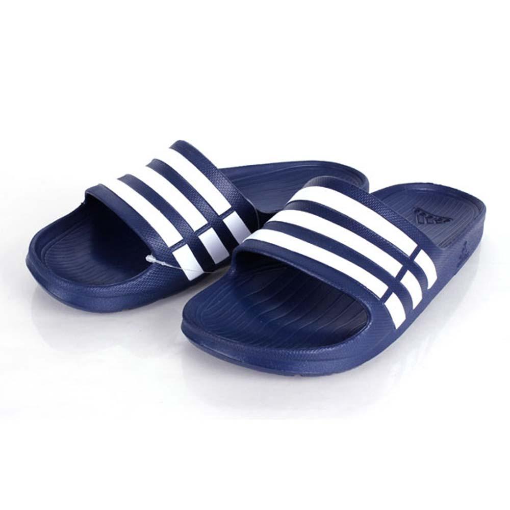 ADIDAS 男女運動拖鞋-沙灘 海邊 愛迪達 丈青白@G15892@