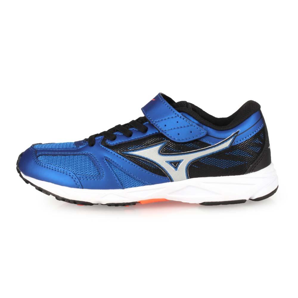 MIZUNO SPEED STUDS BELT 男女童運動鞋-慢跑 路跑 美津濃 藍黑銀@K1GC194028@