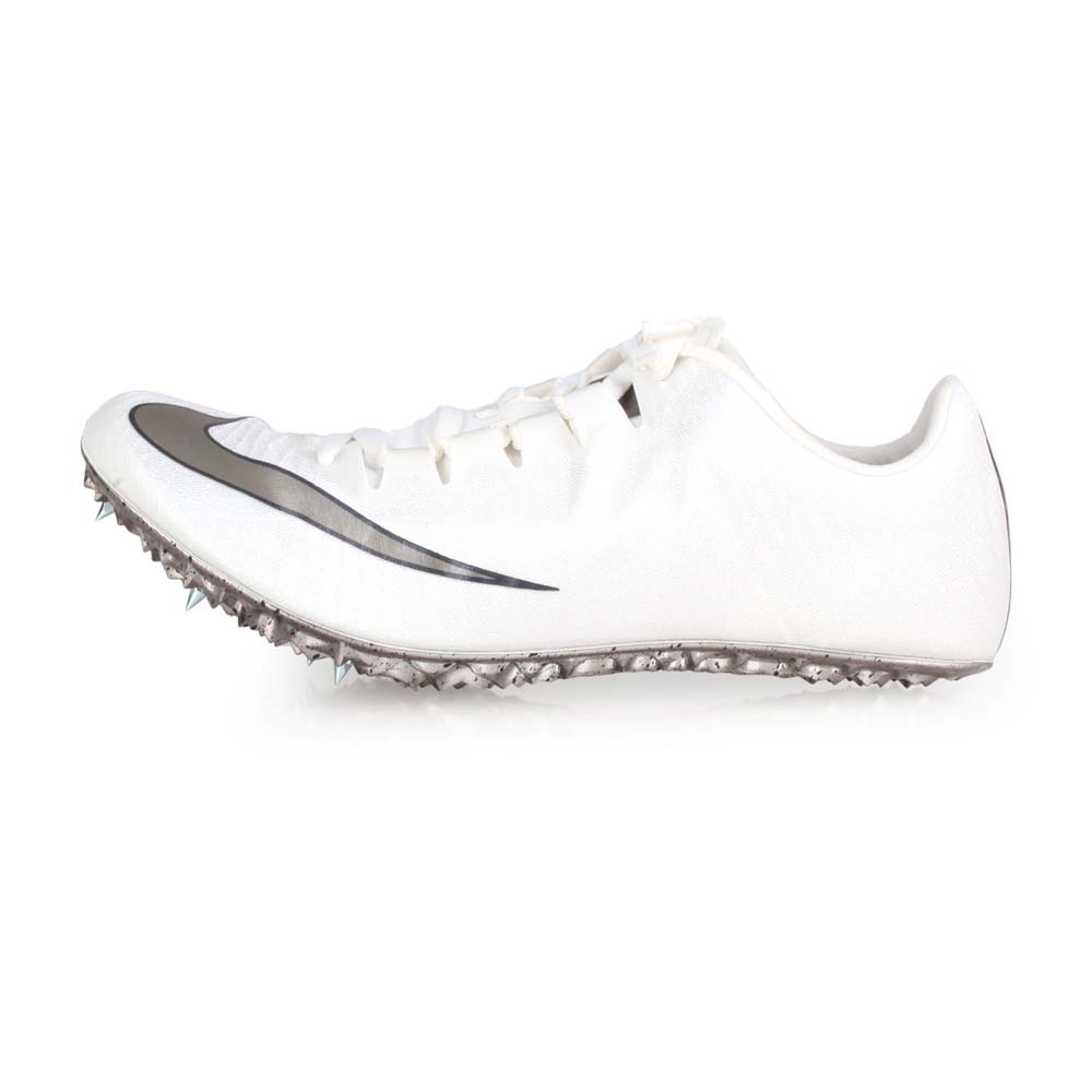 NIKE ZOOM SUPERFLY ELITE 男女田徑釘鞋-短距離  競賽 白銀@835996001@