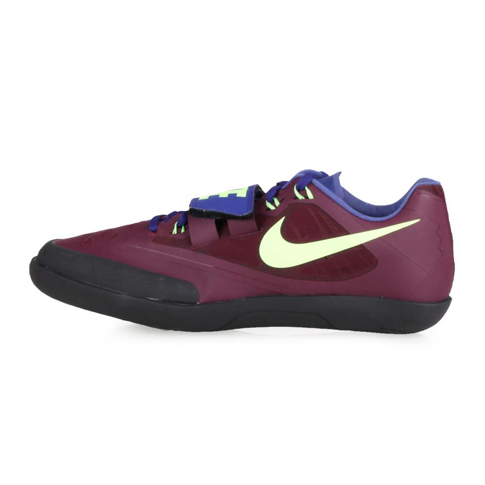 NIKE ZOOM SD 4 男女擲部鞋-競賽 鐵餅 鉛球 田徑 深紫螢光綠@685135600@