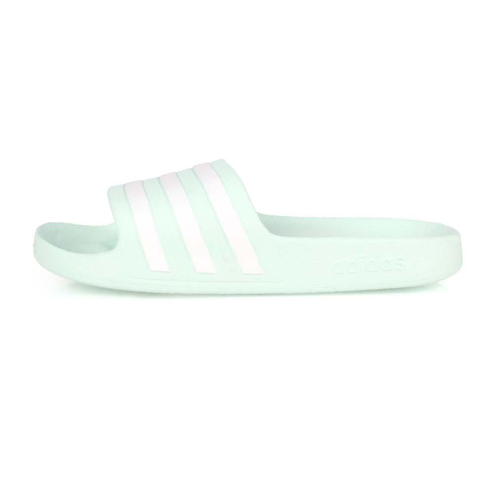ADIDAS 女運動拖鞋-游泳 海邊 海灘 戲水 愛迪達 粉綠白@G28713@