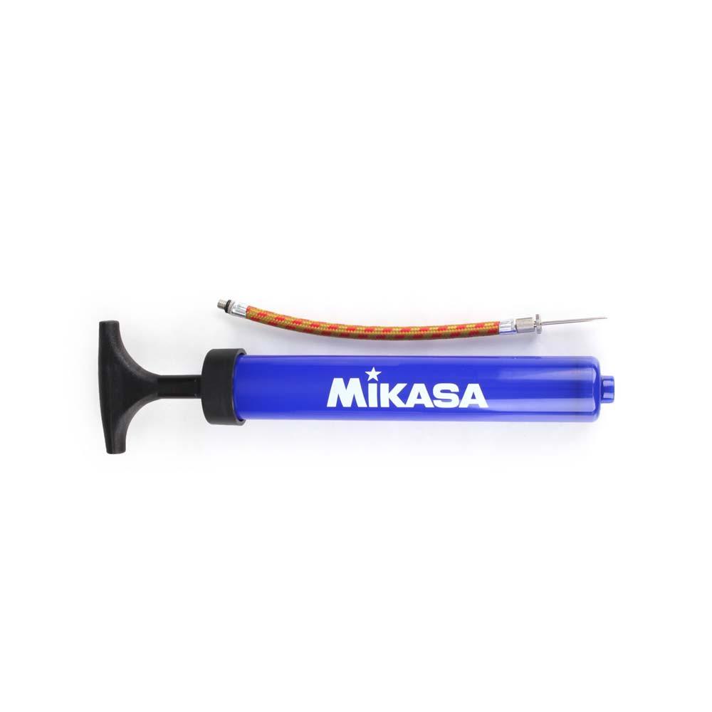 MIKASA 打氣筒-籃球 足球 排球 躲避球 附球針 藍白@MKPA22@