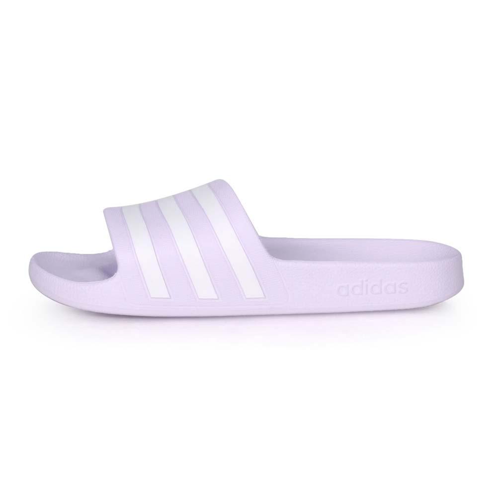 ADIDAS 女運動拖鞋-游泳 海邊 海灘 戲水 愛迪達 粉紫白@EG1742@