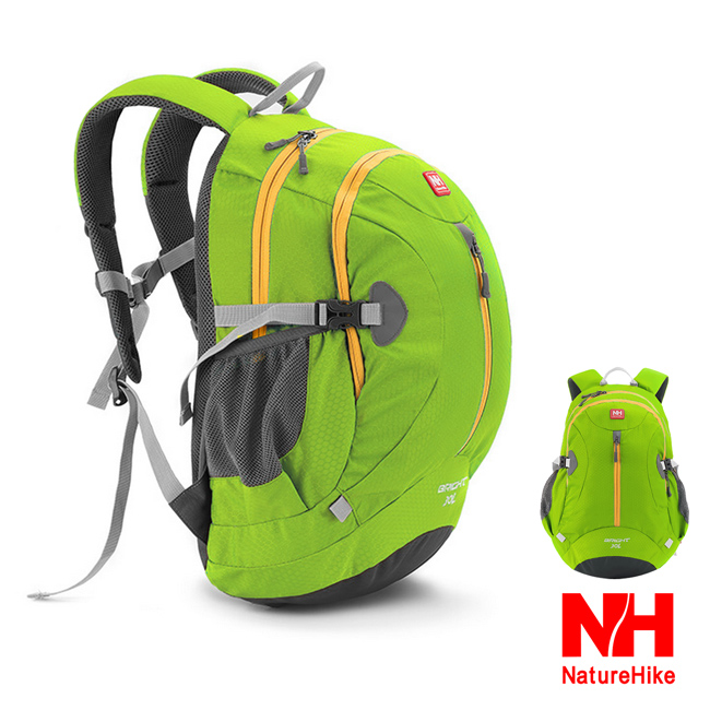 Naturehike  30L輕量護脊防潑水騎行背包 登山後背包 (草綠)