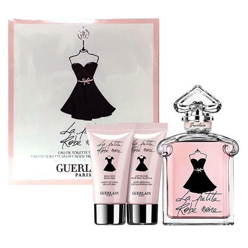 Guerlain 嬌蘭小黑裙淡香水禮盒組100ML (身體乳30ML+沐浴膠30ML)