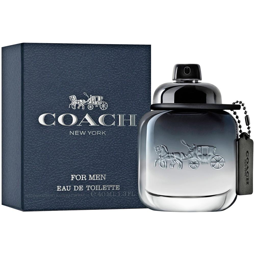 COACH 時尚經典男性淡香水 40ml+品牌隨機小香