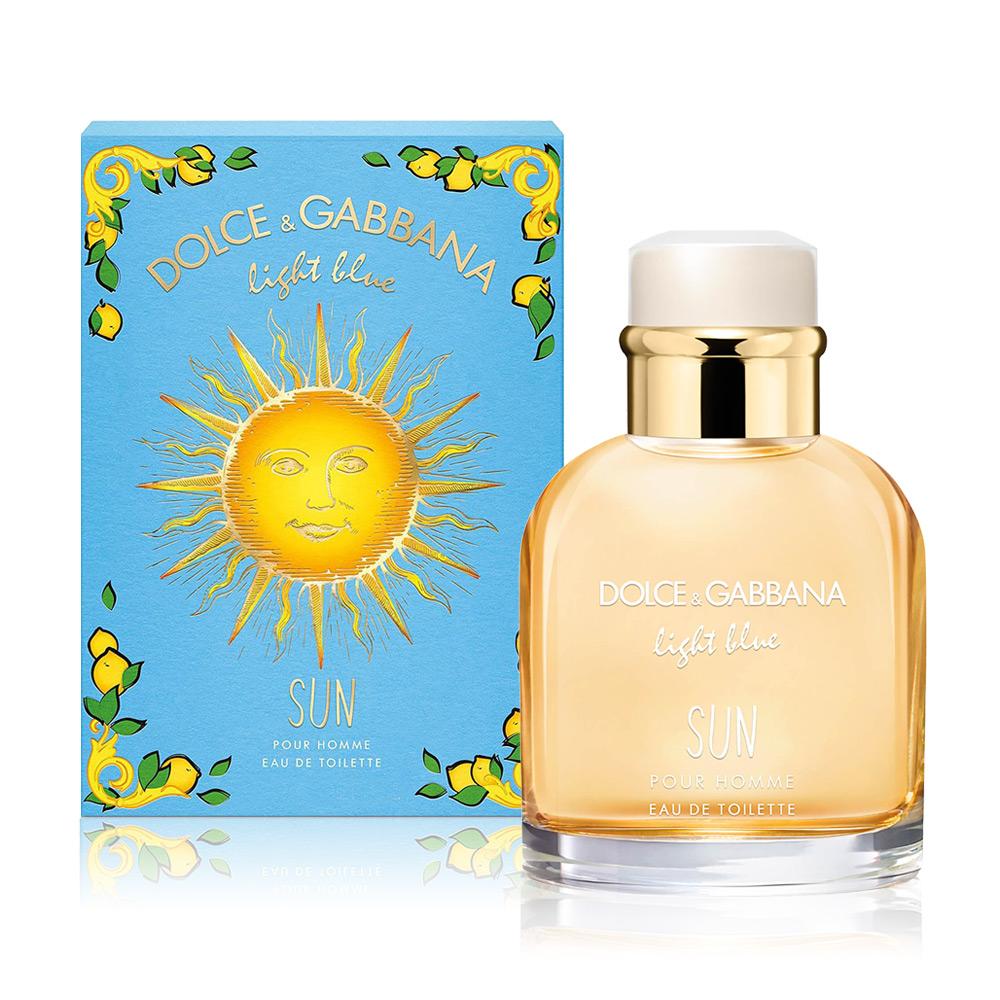 D&G Light Blue Sun Men陽光夏日男性淡香水125ml