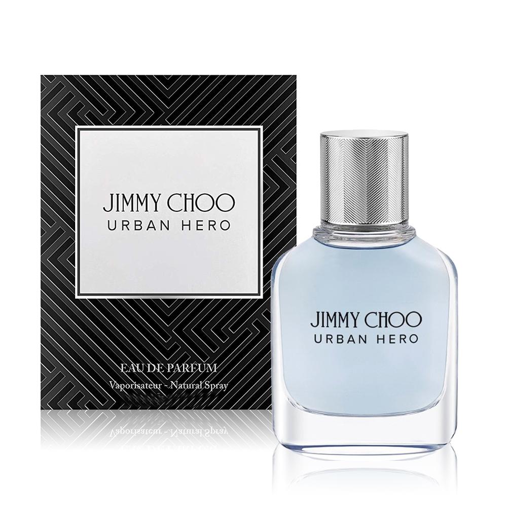 JIMMY CHOO URBAN HERO男性淡香精 30ml+隨機品牌小香+針管x1
