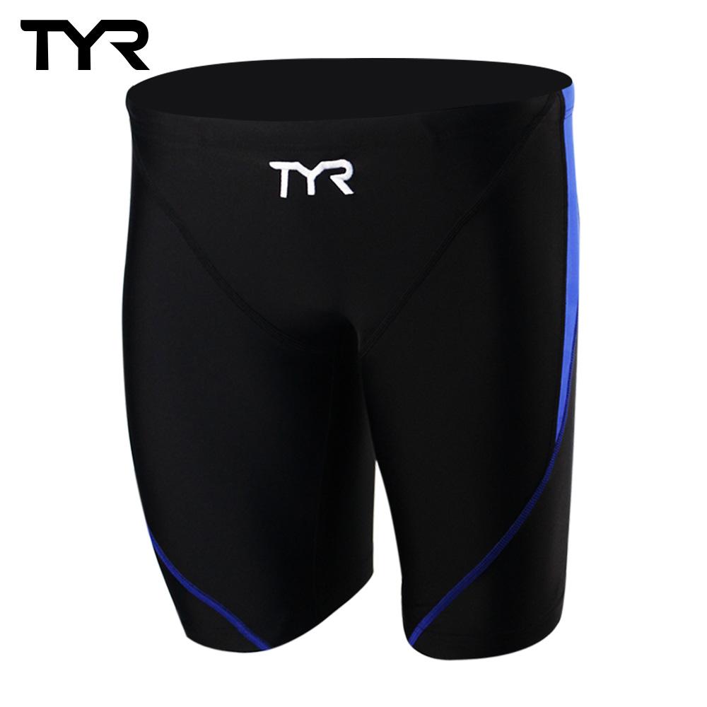 美国TYR男用训练及膝泳裤Ray Jammer Royal 台湾总代理