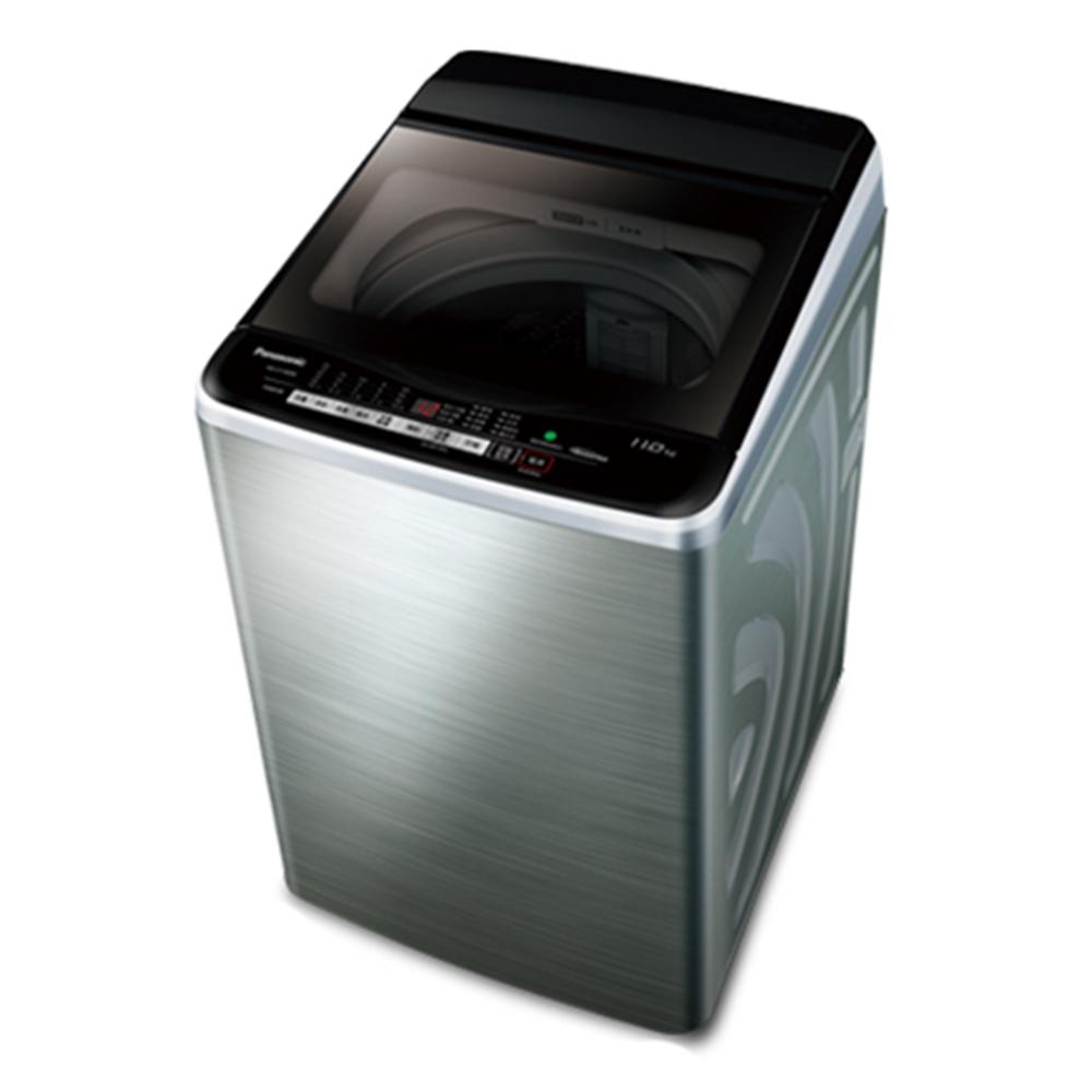 【Panasonic 國際牌】11公斤單槽超變頻洗衣機NA-V110EBS-S