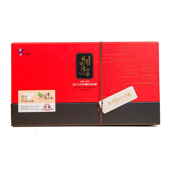 預購【南投縣魚池鄉農會】2015日月潭紅茶評鑑比賽茶特等獎-紅玉紅茶(台茶18號)罐裝禮盒150g
