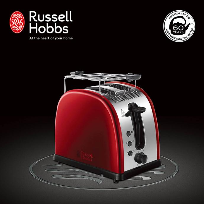 英國 Russell Hobbs Legacy 晶亮烤麵包機