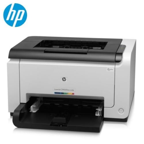 HP LaserJet Pro CP1025nw 無線彩迷你雷射印表機