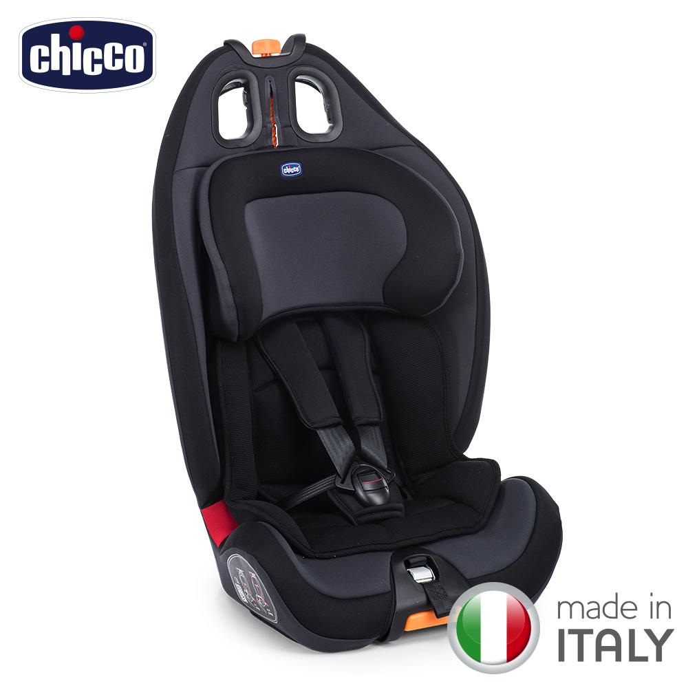 chicco-Gro-Up 123成长型安全汽座-绝对黑
