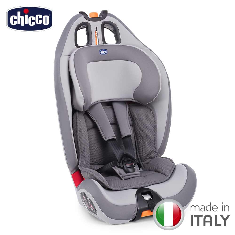 chicco-Gro-Up 123成长型安全汽座-品味灰
