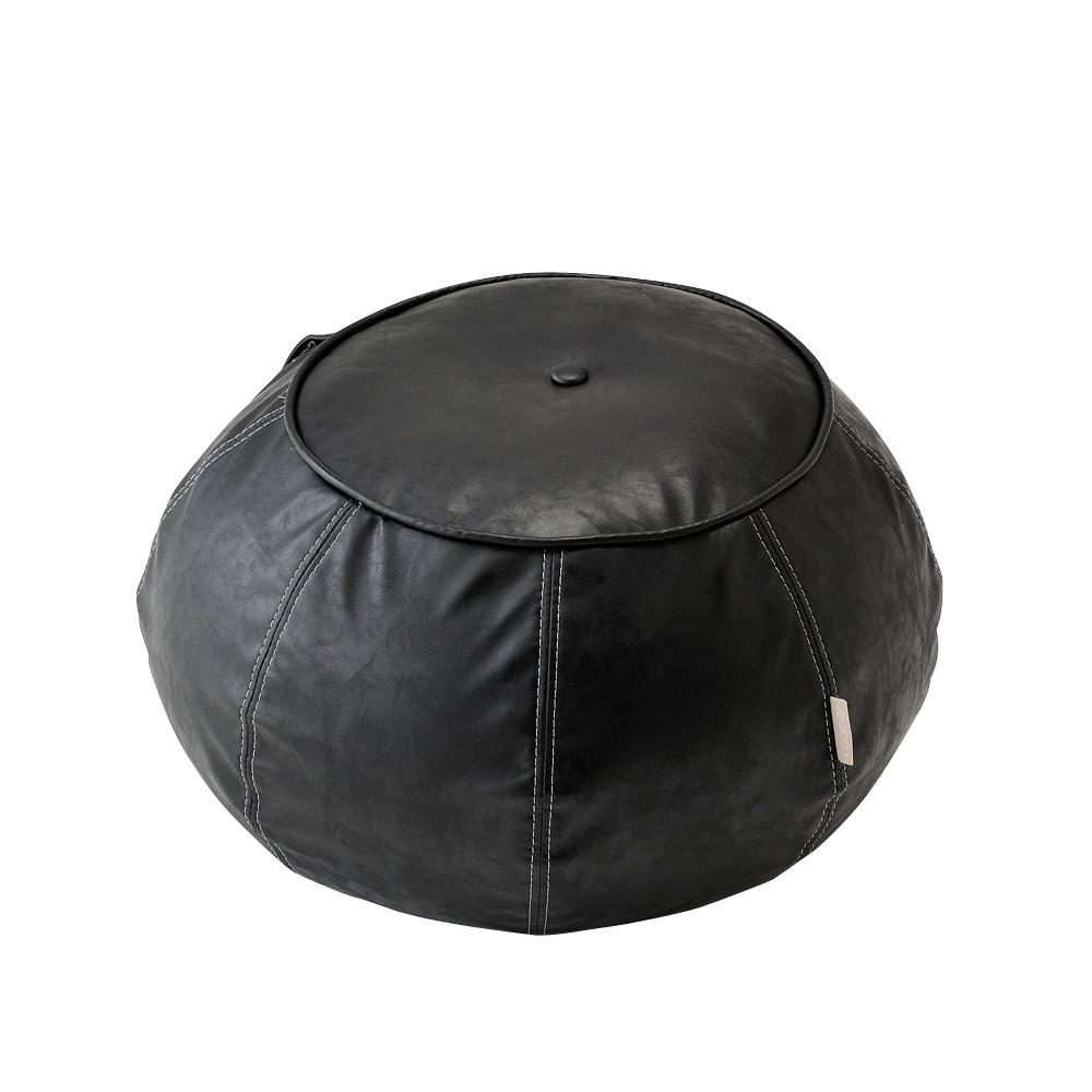 Lourdes皮質韻律感平衡球椅(黑色)