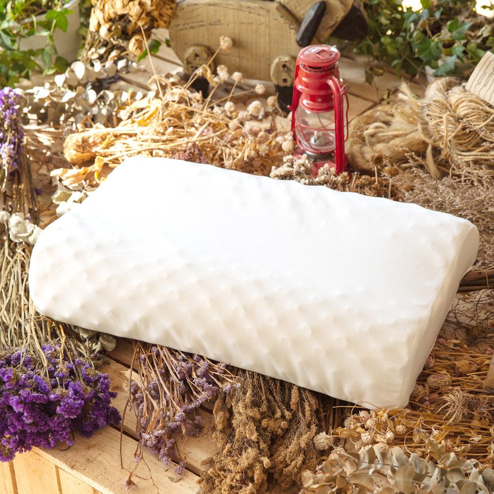 LAMINA 波浪按摩乳胶枕