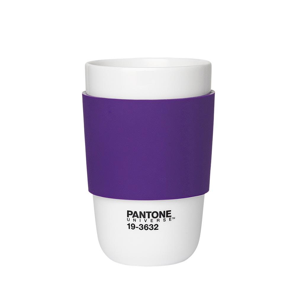 Pantone Universe 色票隔熱杯 牽牛紫