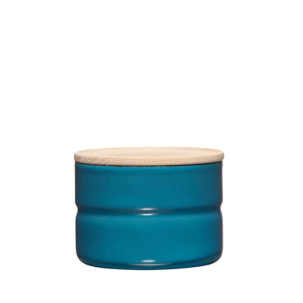 Riess 230ml/8cm 琺瑯收納罐 - 地中海藍