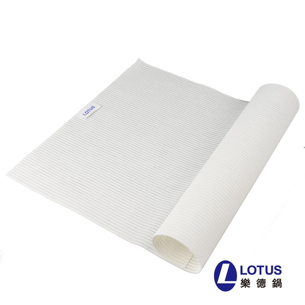 【LOTUS】时尚系列-珍珠白色餐桌垫(2入)