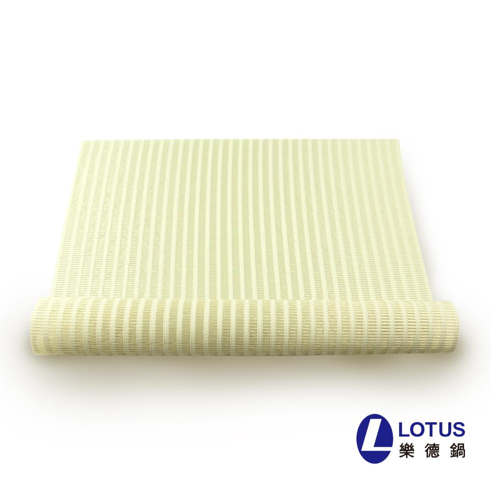 【LOTUS】时尚系列-米色细直纹餐桌垫(2入)