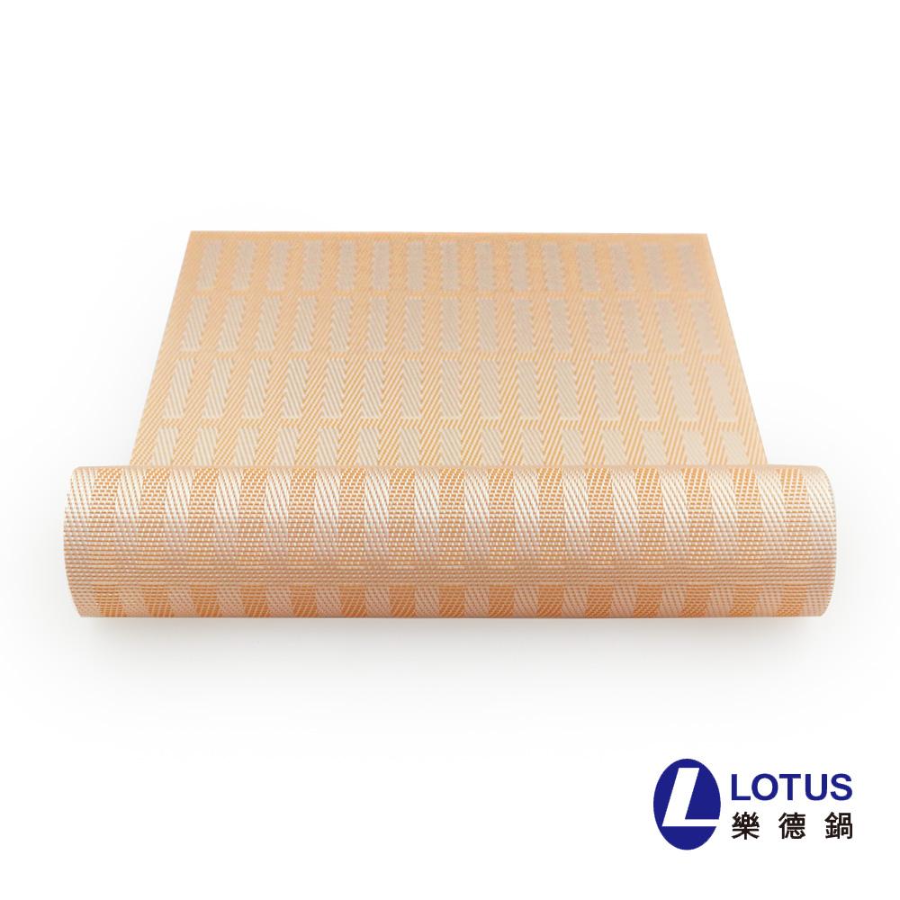 【LOTUS】时尚系列-粉红条纹餐桌垫(2入)