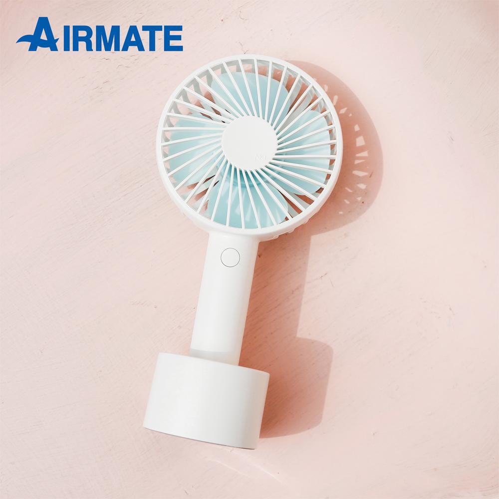 【AIRMATE艾美特】USB風扇手持小風扇-冰川白