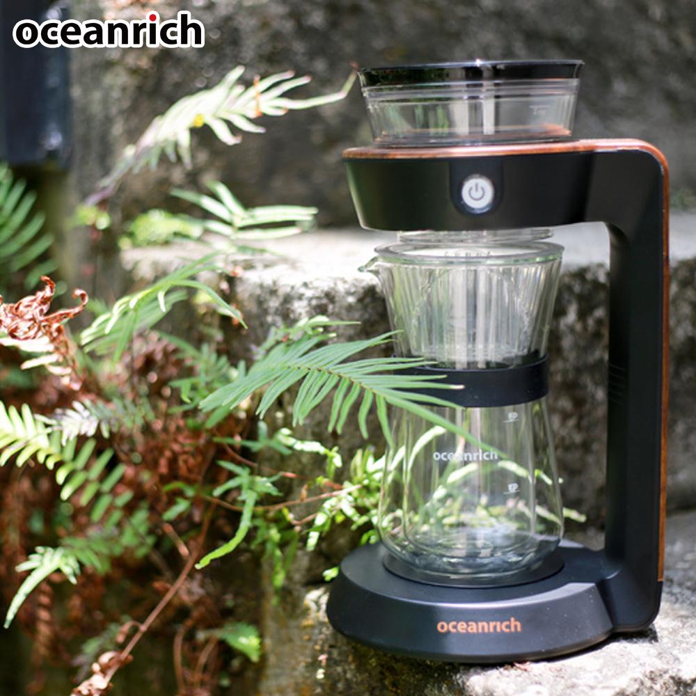 OCEANRICH經典萃取旋轉咖啡機CR7352BD
