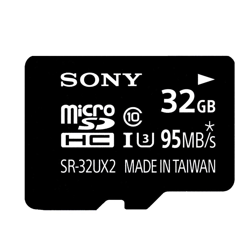 SONY 32GB microSDHC UHS-I U3 95MB/s極速記憶卡