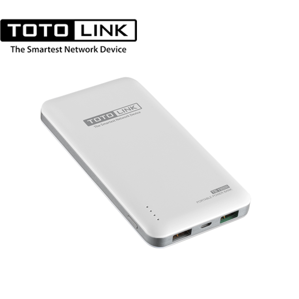 TOTOLINK 10000mAh超薄快充行動電源-TB10000 雙色任選