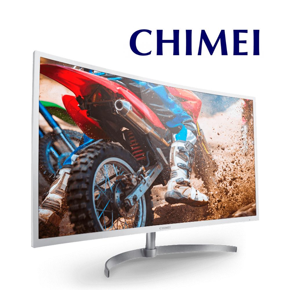 CHIMEI 奇美32吋VA電競曲面螢幕-ML-32C10F【贈-羅技無線鍵鼠 MK240】