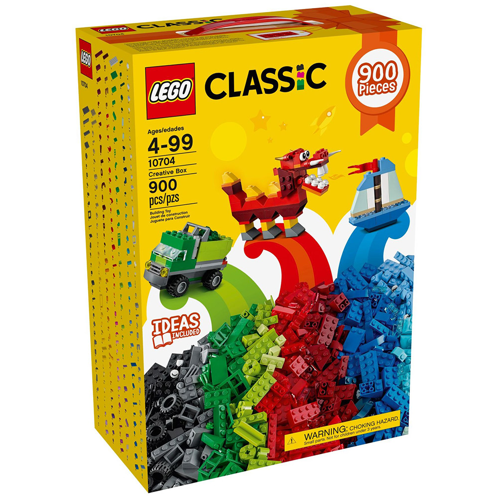 【LEGO樂高】經典系列 10704 樂高創意盒