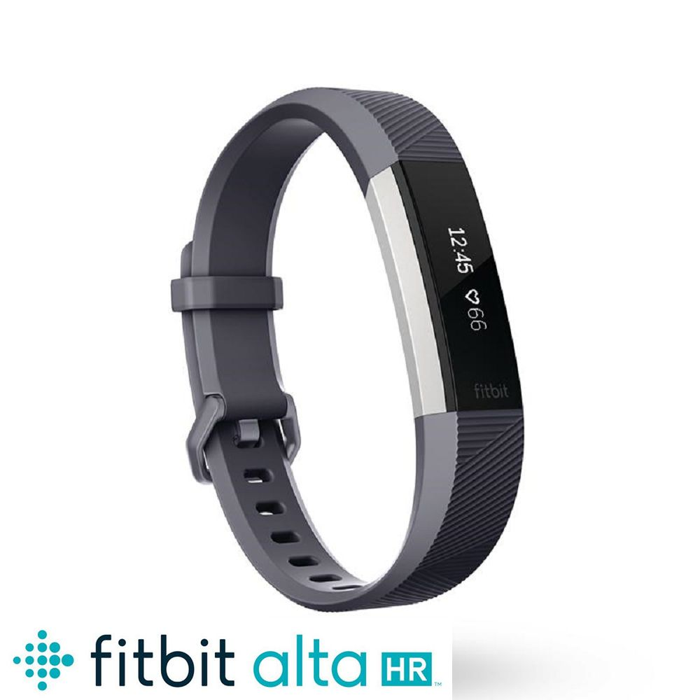 Fitbit Alta HR 心率运动手环 蓝灰色